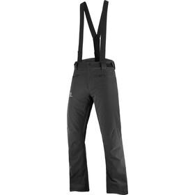 Salomon Stance Pantalones Hombre, negro
